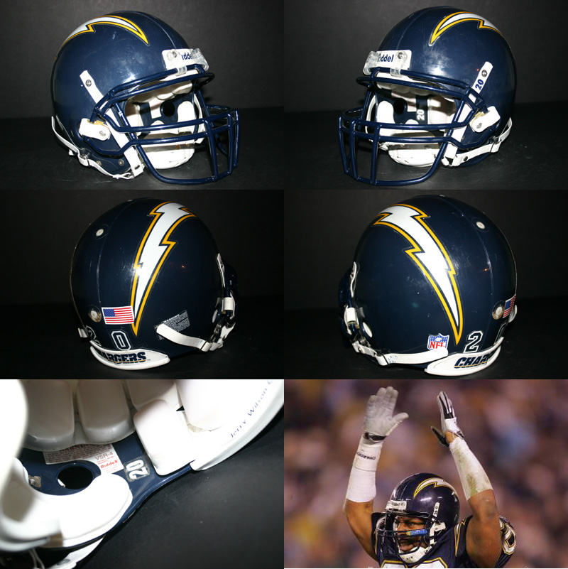 San Diego Chargers Game: Real Stuff Sports Helmet Of The Week