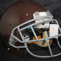 Real Stuff Sports Game Used Game Worn Football Helmets